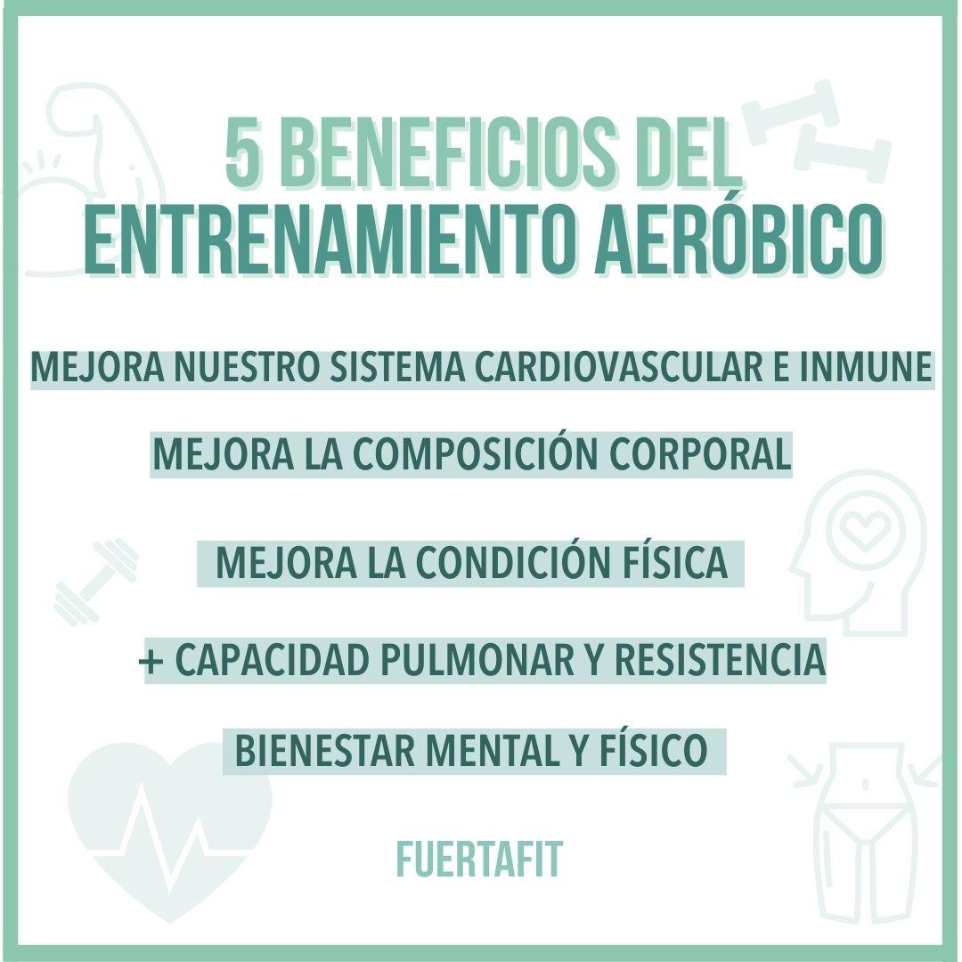 entrenamiento aeróbico o cardio 5 cosas para hacerlo