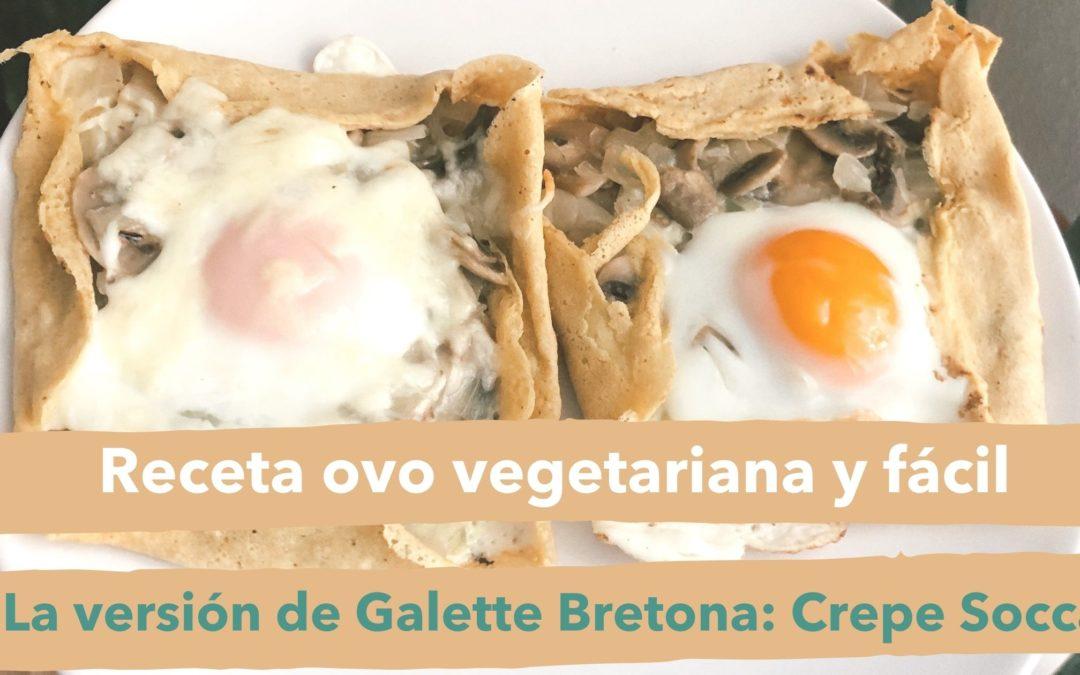 receta vegetariana facil crepe socca elaboracion