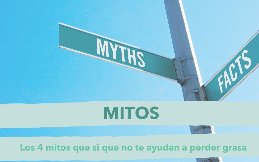 los mitos sobre perder grasa que te han contado