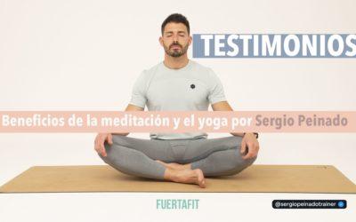 Hablando con Sergio Peinado: Los beneficios de la meditación y el yoga que ha experimentado