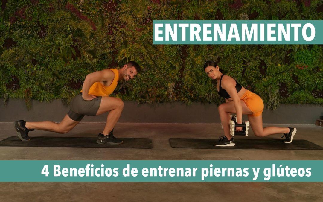 beneficios entrenar piernas y glúteos