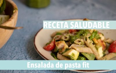 Haz tu ensalada de pasta saludable con esta receta