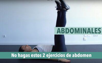 Cuidado con estos ejercicios de abdomen
