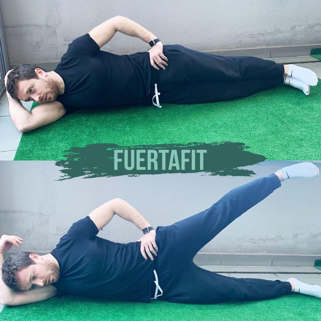 abdución de cadera ejercicios de glúteos