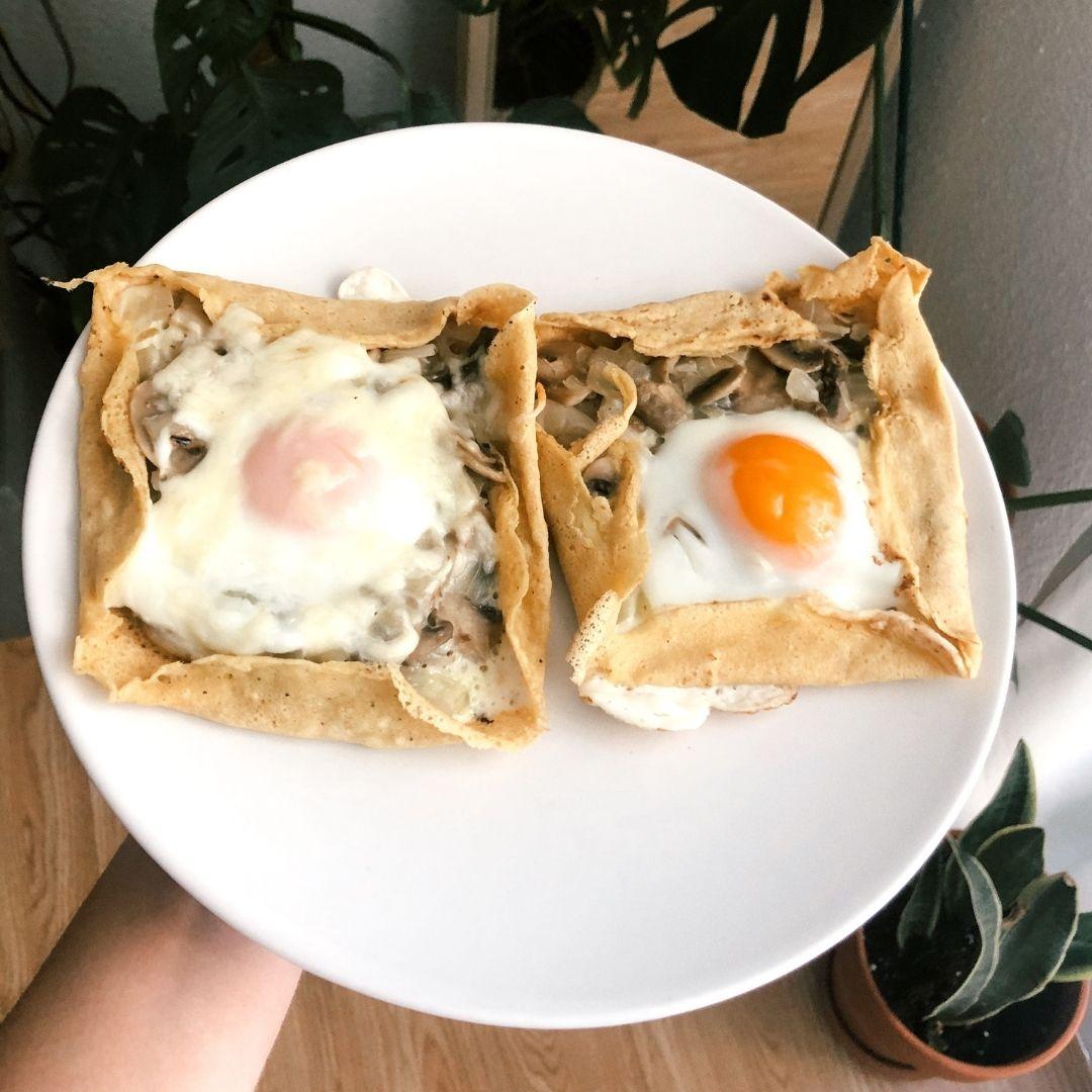 diferencias crepe socca y galette bretona